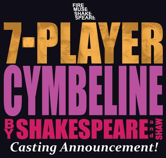 7-Player Cymbeline Cast Announcement