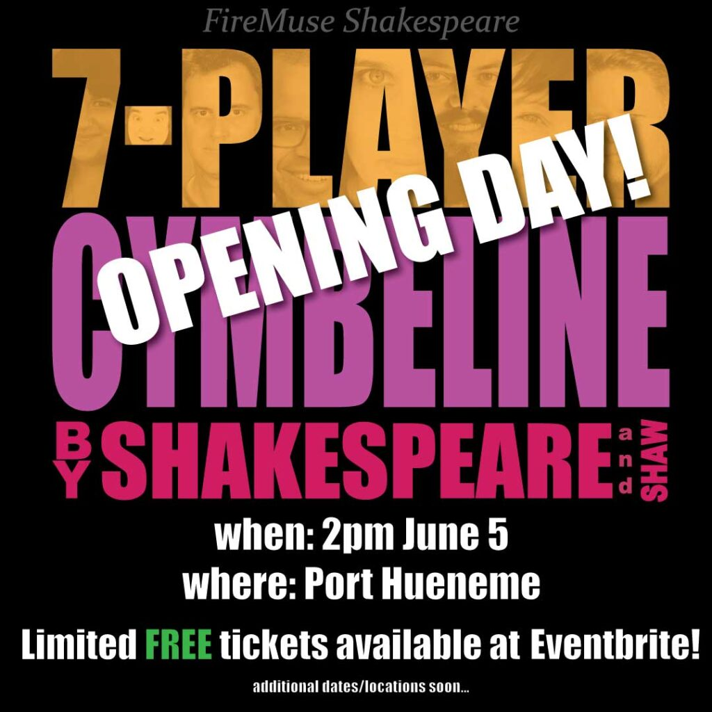 7-Player Cymbeline Opening