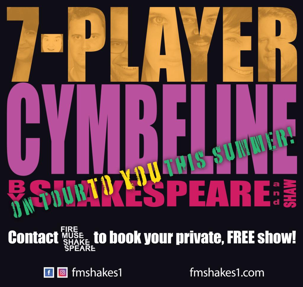 7-Player Cymbeline: ON TOUR
